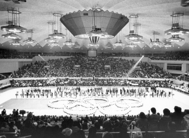 A file pic of the 1972 OIympics.