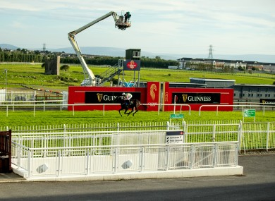 Townend riding to victory on Jon Snow yesterday.