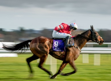 Mt Leinster runs in the Galway Hurdle.