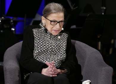Supreme Court Justice Ruth Bader Ginsburg released a statement this evening.