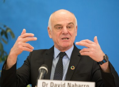 David Nabarro, WHO special envoy on Covid-19.