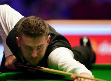 On form: Mark Selby.