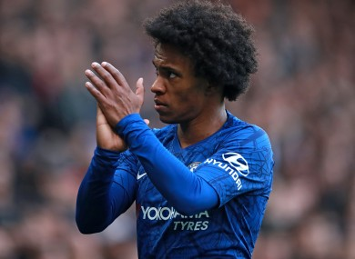 Willian has been linked with a move to Arsenal.