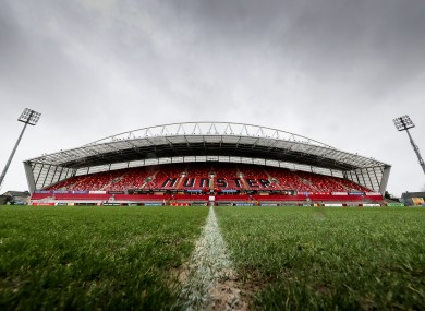 Munster's Thomond Park.