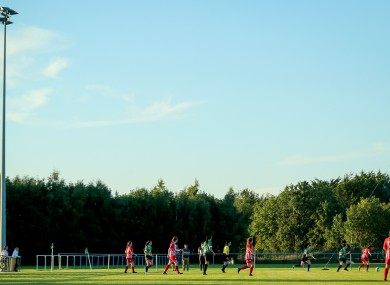 File photo: Treaty in action against Peamount earlier this month.