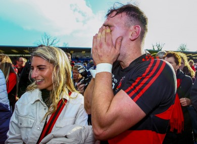 Dessie Hutchinson after last year's Waterford county senior final.