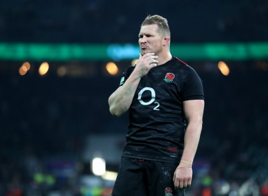 Dylan Hartley (file pic).