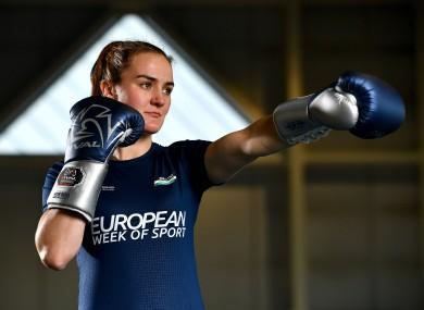Kellie Harrington was speaking at the launch of European Week of Sport 2020.