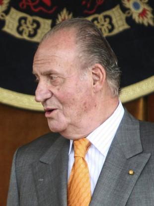 Spain's former King Juan Carlos in 2008