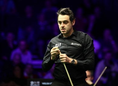 Ronnie O'Sullivan [file photo].
