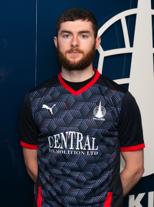 Keena was unveiled by Falkirk this morning.