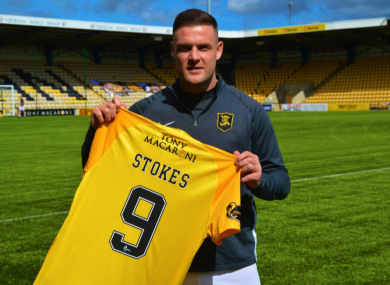 Livingston have signed Anthony Stokes.
