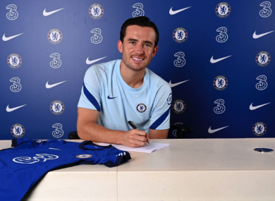 Ben Chilwell is officially a Chelsea player.