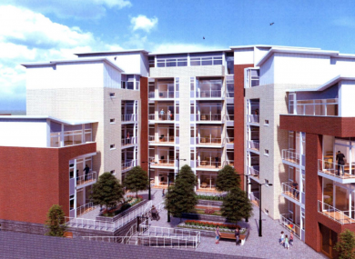 The proposed development at Shamrock Place in Dublin 1.