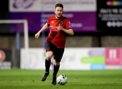 Drogheda's Sean Brennan (file pic).