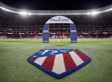 Atletico Madrid are set to play Leipzig on Thursday.