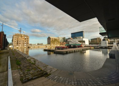 The Grand Canal area of Dublin could be turned into an 'innovation district'.