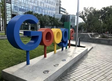 Google's headquarters in Beijing.