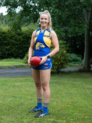 McCarthy is set for her third season in the AFLW.