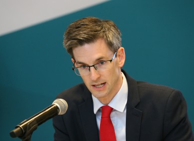 Acting Chief Medical Officer Dr Ronan Glynn (file photo).