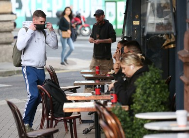 There has been a significant backlash from Dublin businesses over plans to close restaurants and pubs to indoor dining.