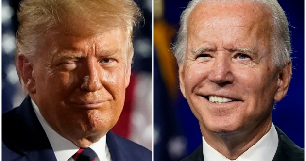 As it happened: Donald Trump and Joe Biden go head-to-head in first presidential debate