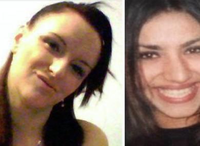 Henriett Szucs and Mihrican Mustafa were both murdered.
