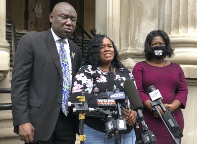 Tamika Palmer, mother of Breonna Taylor, after reaching a settlement with the city of Louisville.