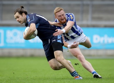 Kevin McManamon on the ball for St Jude's.