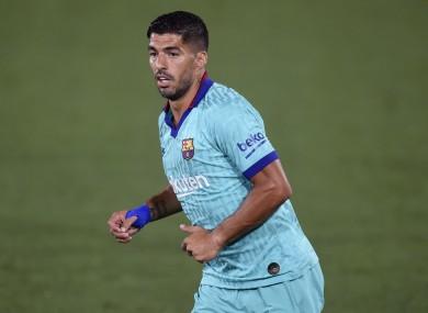 Luis Suarez is set to leave Barcelona.