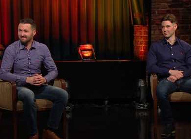 The Olivers appeared on the Late Late Show after last month's rescue.