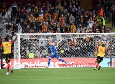 A 1-0 win for Lens tonight against PSG.