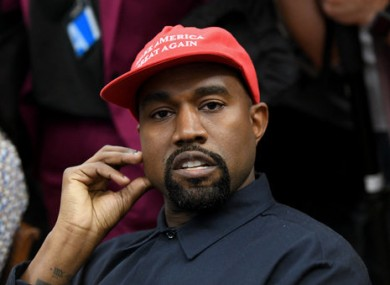 Kanye West visited Donald Trump in the Oval Office in 2018.
