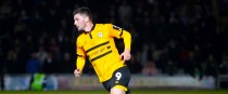 File photo of Padraig Amond playing for Newport.