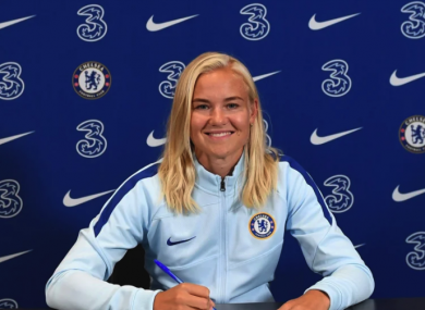 Pernille Harder has signed for Chelsea.