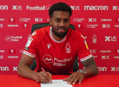 Cyrus Christie has joined Nottingham Forest.