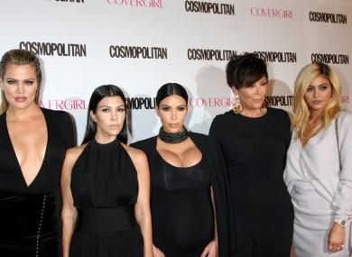 File image of the Kardashian family.