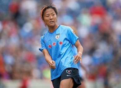 Yuki Nagasato (file pic).