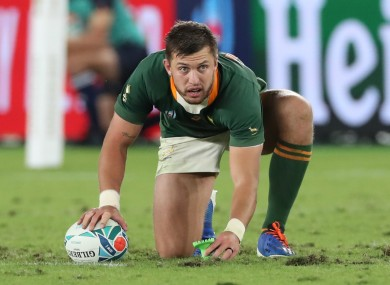 Pollard and Springboks could join new 'Eight Nations' tournament.