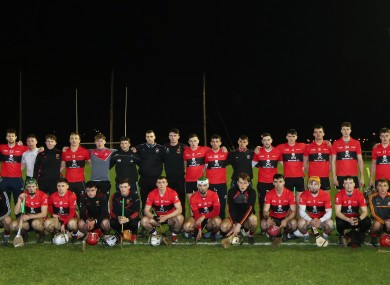 The UCC team who won the 2020 Fitzgibbon Cup, some of those players now chase Cork title.