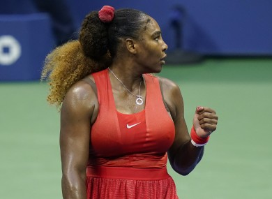 Serena Williams kept her dream of a 24th grand slam title alive.