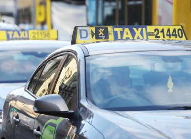 Taxi drivers will be among those affected by the measure (file photo)