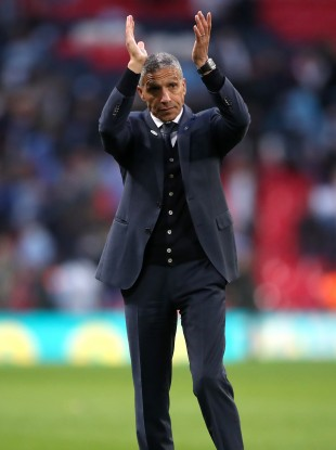 Back in the game: Chris Hughton.