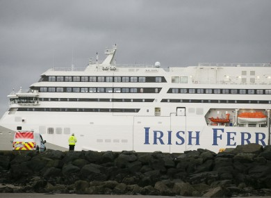The WB Yeats ferry (file photo).