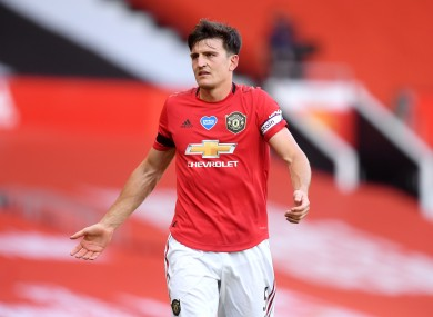 Harry Maguire (file pic).
