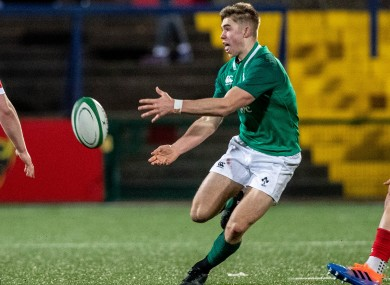 Ireland U20 out-half Jack Crowley is part of an exciting Munster crop at the tournament.