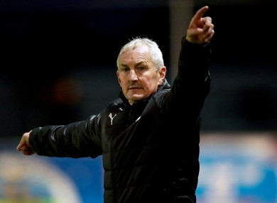 Galway boss John Caulfield (file pic).