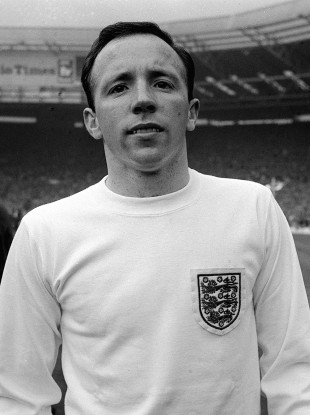 Nobby Stiles was capped 28 times by England.