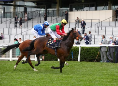 Nando Parrado seen here winning the Coventry Stakes.