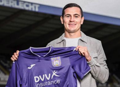 Anderlecht unveiled Josh Cullen this evening.
